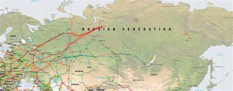 russia europe gas pipelines map russia former soviet union pipelines map crude