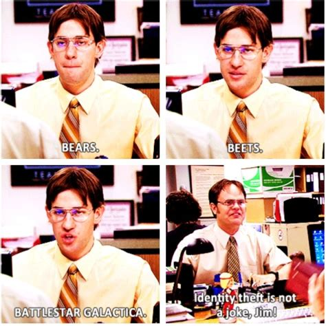 Jim Whiting Identity Theft jim and dwight the office tv offices pictures and chang e 3