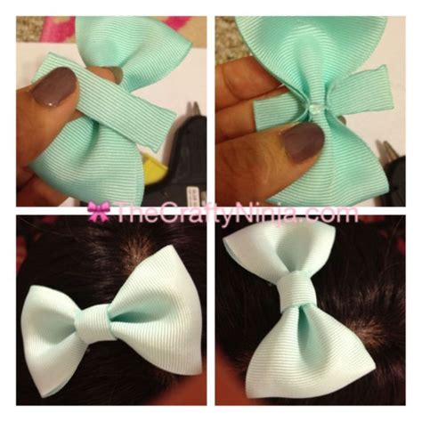 How To Make A Bow Tie Out Of Paper - 25 best ideas about ribbon bows on diy bow