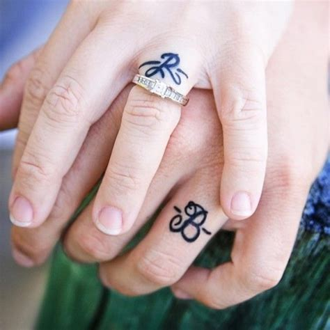 simple tattoo rings 35 sweet simple wedding band tattoos wedding band