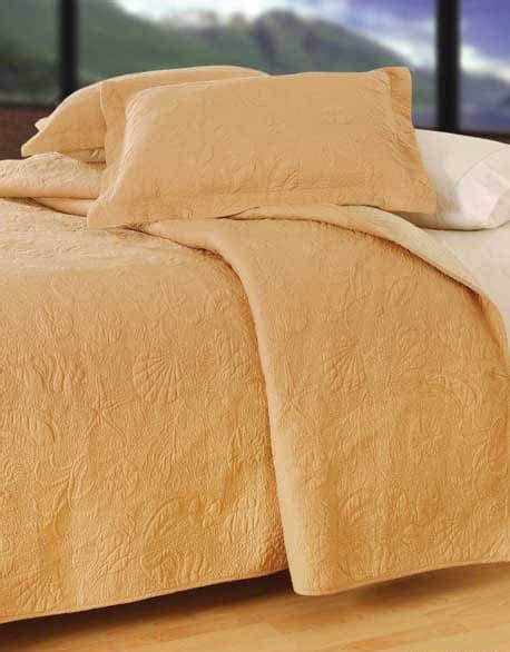 seashell matelasse coverlet taupe shell quilted matelasse quilt bedding by c f