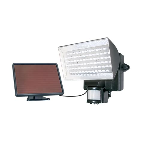 maxsa solar powered 80 led floodlight with motion sensor