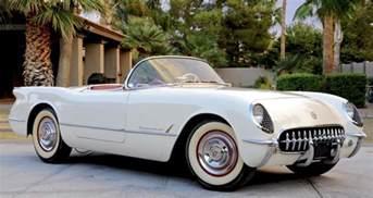 what color was the corvette in 1953 the 1953 chevrolet corvette a legend is born