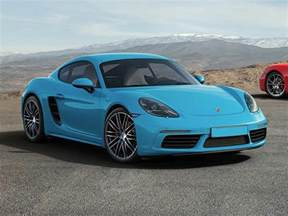 Porsche Price New 2017 Porsche 718 Cayman Price Photos Reviews