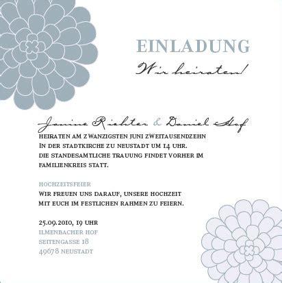 Einladung Hochzeitsfeier Nach Trauung by Anregungen F 252 R Eure Hochzeitseinladungstexte Hochzeitsguide