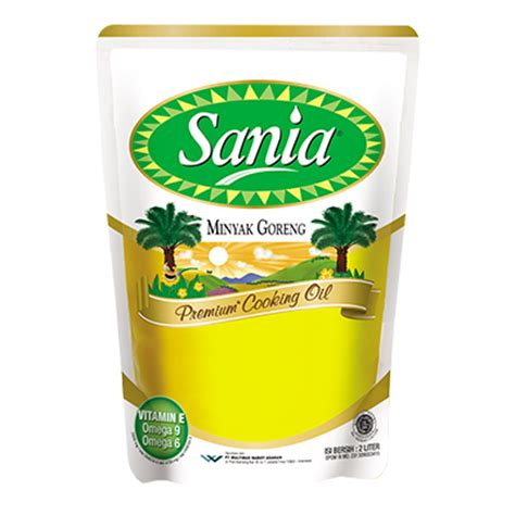 Minyak Goreng Sania minyak goreng sania 2 pouch elevenia