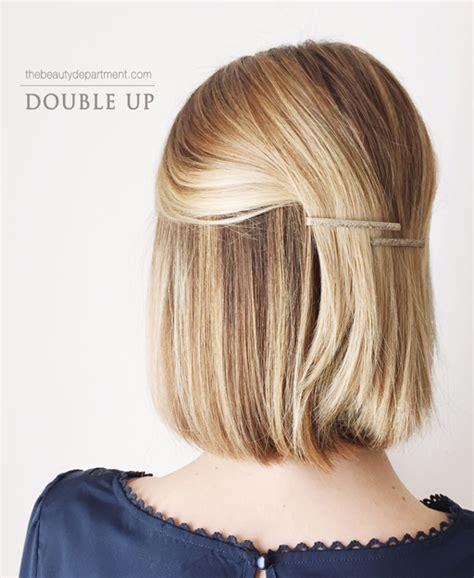 hair talk the lob the beauty department bloglovin short hair styling simplified the beauty department
