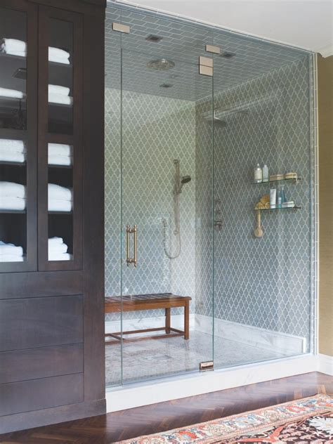 master bathroom shower tile ideas 15 dreamy spa inspired bathrooms hgtv