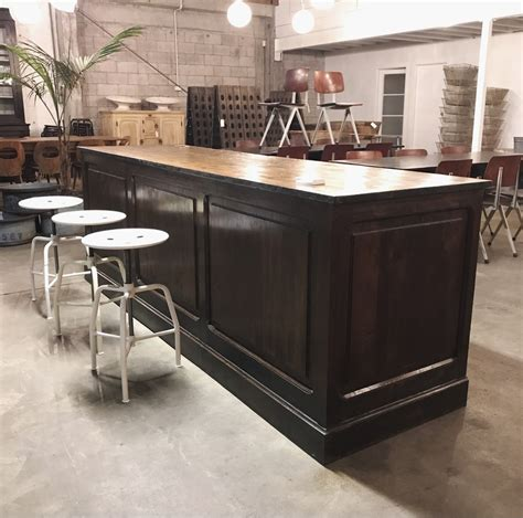 Kitchen Island Shop | ex shop counter kitchen island in vitrine