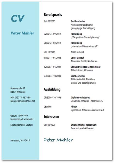 Kostenlose Vorlagen Word Perfekter Tabellarischer Lebenslauf Detaillierte Anleitung