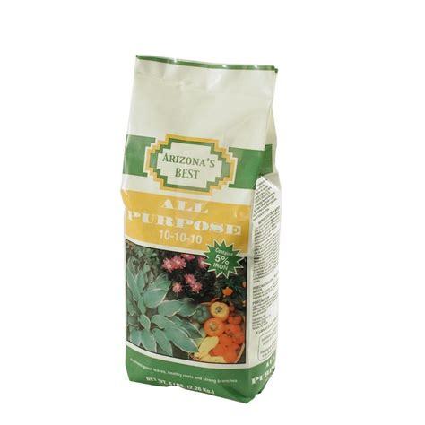 arizona s best 5 lb 10 10 10 all purpose fertilizer