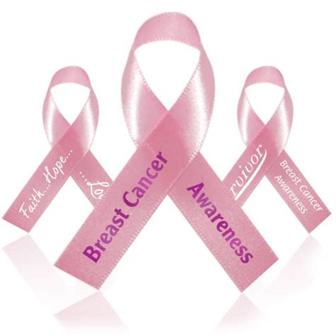 breast cancer ribbon template clipart best