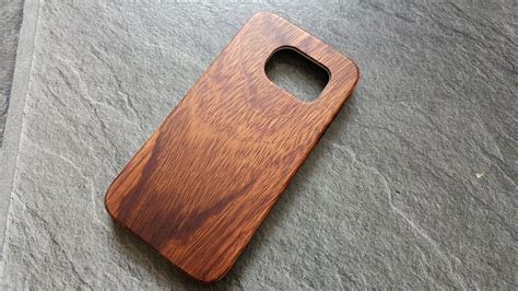 Bamboo Slim For Samsung Galaxy S7 Edge Tribal Kawung slicoo wood bamboo for galaxy s7 overview