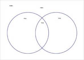 Venn Diagram Template Word by Blank Venn Diagram Templates 10 Free Word Pdf Format