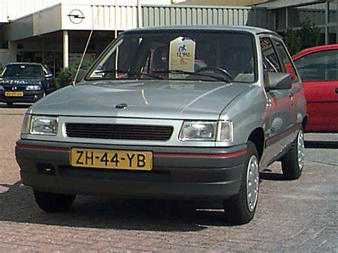 opel corsa swing opel corsa 1 4i swing 1990 parts specs