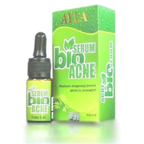 Serum Untuk Jerawat serum alya bio acnie cara mengatasi jerawat secara alami