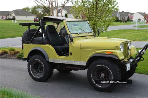 Jeep Copm 1981 Jeep Cj Cj5 Custom Fiberglass