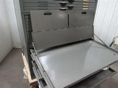 blueprint flat file cabinet used hamilton flat file blueprint plans map architect metal