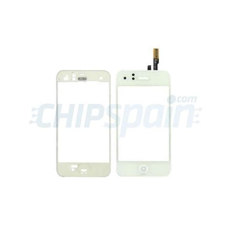 Touchscreen Iphone 3g By Oneparts touch screen with frame iphone 3g white chipspain