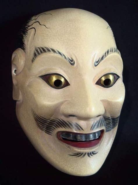 noh mask suji otoko