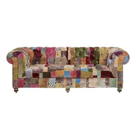 Patchwork Furniture Uk - boheme grand sofa from lewis patchwork decorating