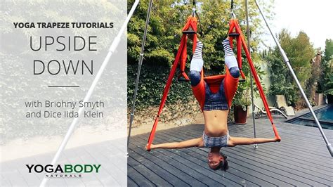 yoga swing tutorial yoga trapeze yoga swing tutorial w briohny smyth