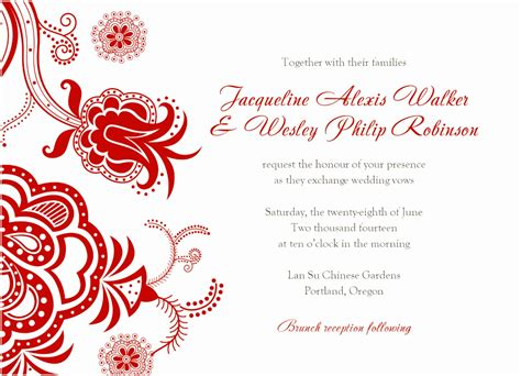 wedding invitation cards words exles design your own invitations simple birthday