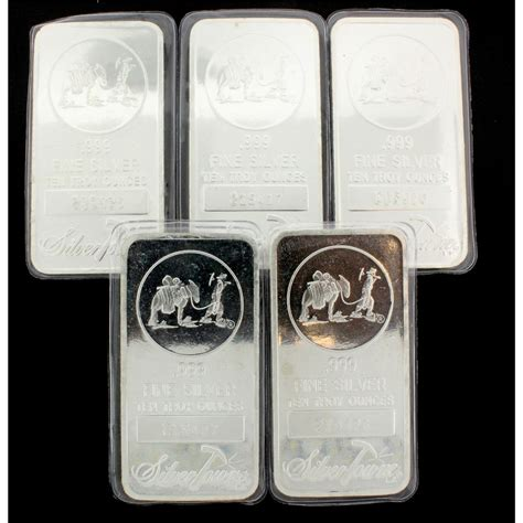 10 troy ounce 999 silver bar bullion 10 troy ounce 999 silver bar silver towne lp