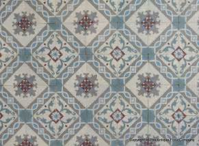 Ceramic Bathroom Floor - beautiful period french ceramic encaustic floor with original triple border tiles the antique