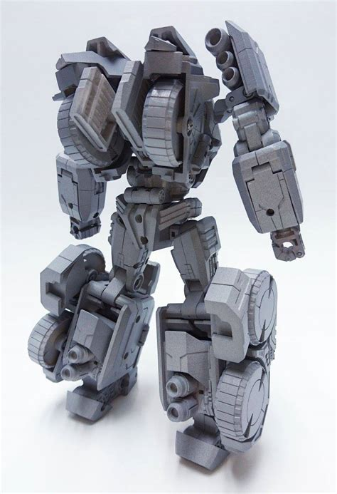Megatron Grey planet x fall of cybertron inspired optimus prime grey