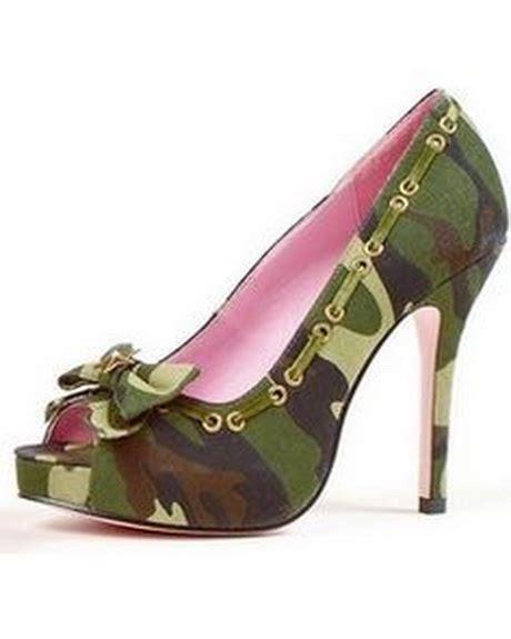 camouflage high heels camouflage heels