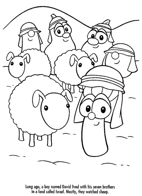 Veggietales Coloring Sheets Printable Coloring Pages Veggietales Coloring Pages