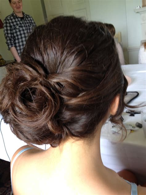 side bun hairstyles for weddings hairstyle for