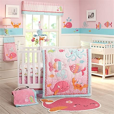 Bed Bath And Beyond Crib Bedding S 174 The Sea Crib Bedding Collection Bed Bath Beyond