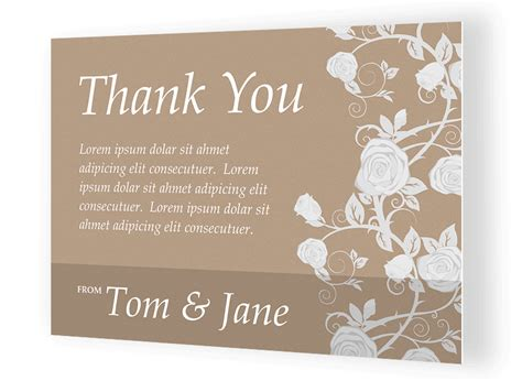 how to make personalized cards custom thank you card printing