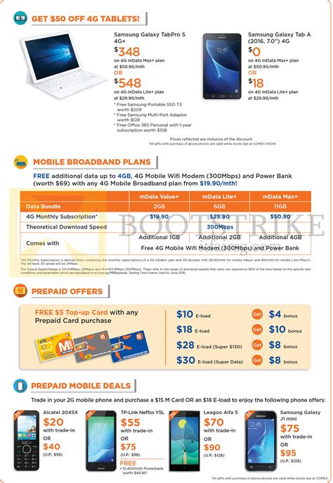 m1 tablets mobile broadband plans prepaid samsung