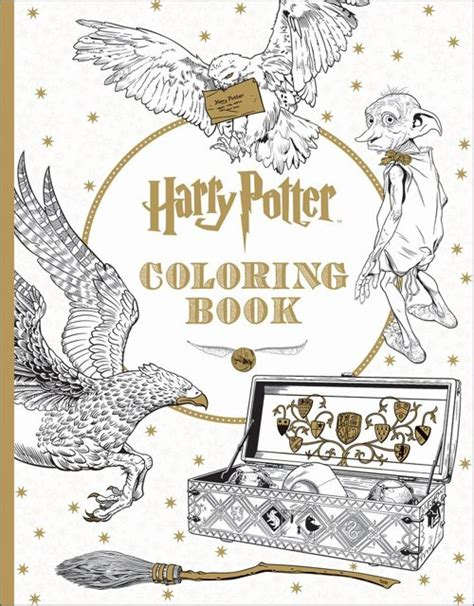 potter coloring books 5 official harry potter coloring books will be out by summer