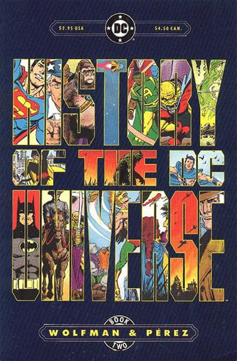 the armchair universe history of the dc universe vol 1 2 dc comics database