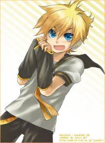 foto len len kagamine anime photo 27338060 fanpop