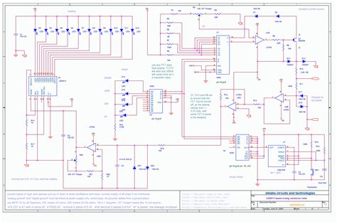 how to measure resistance pdf lm3914 analog display and resistance measurement del20008