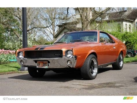 1969 bittersweet orange amc amx coupe 103841833 gtcarlot car color galleries