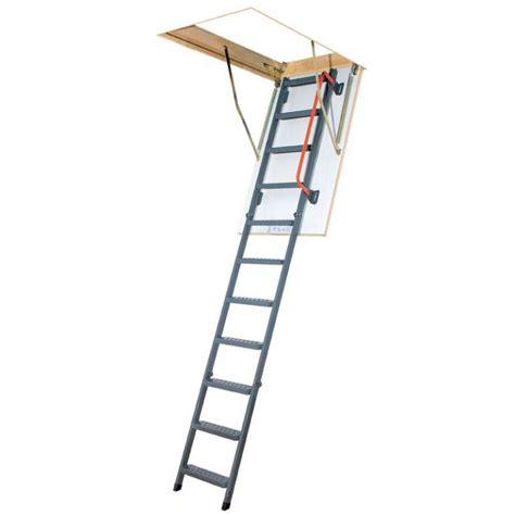 3 Section Loft Ladders Uk by 3 Section Steel Folding Loft Ladder White Hatch