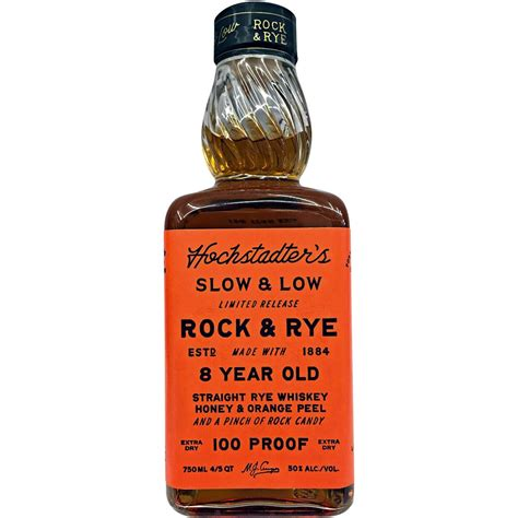 caskers selection hochstadter s slow and low rock rye 8