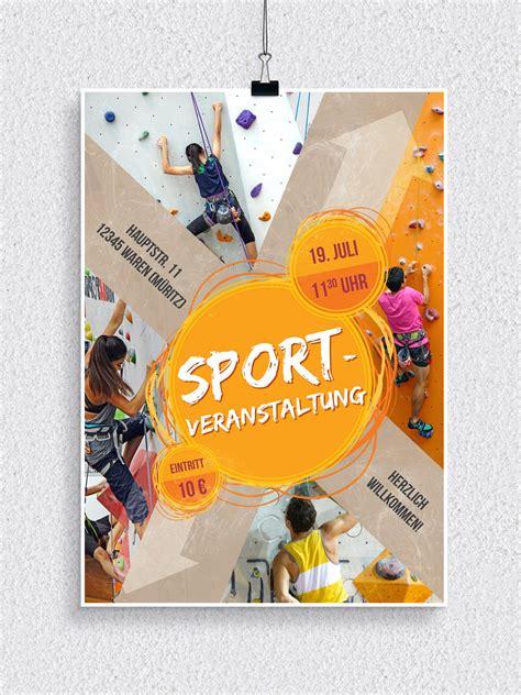 Flyer Design Vorlagen Psd Flyer Vorlagen F 252 R Sportveranstaltungen Psd Tutorials De Shop