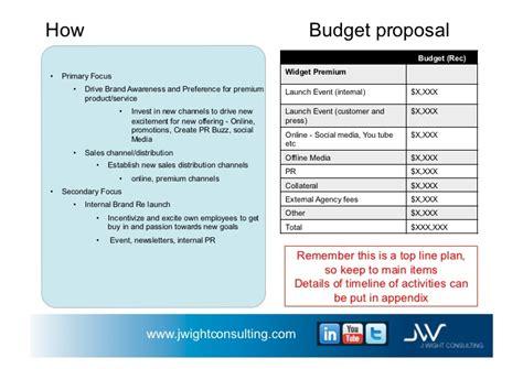 design proposal sample business plan example for widget company v 1 1 november