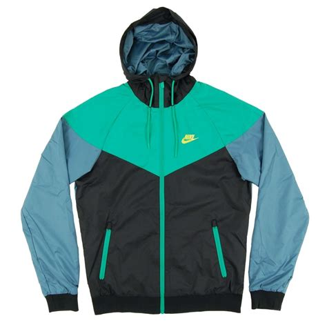 Jaket Nike Parasut Windrunner Blue nike windrunner jacket black stadium green mica blue mens clothing from attic clothing uk