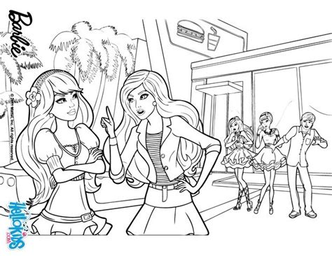 25 barbie a fairy secret coloring pages princesses