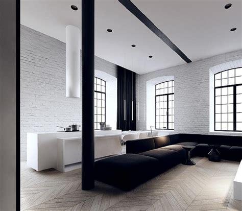 blanco  negro  ideas  el salon moderno  elegante