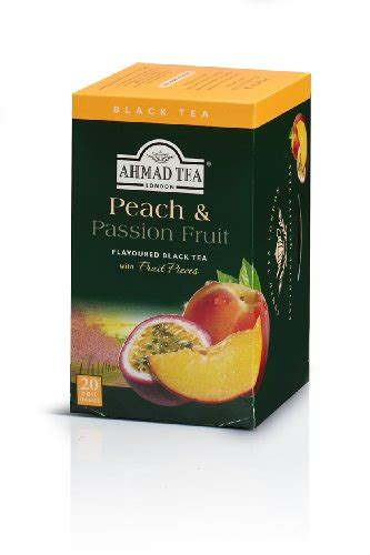 Ahmad Tea Detox 20 Count Pack Of 6 by Ahmad Tea Fruit Black Tea 20 Count Boxes