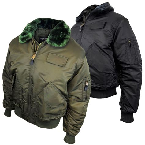Jaket Bomber Pilot By A P M mens location ma2 pilot army flight bomber jacket